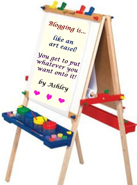 Image of an easel