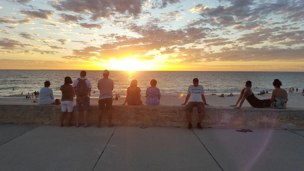 Sunset, Sorrento Beach