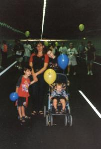 Me in Northbridge Tunnel, 2000