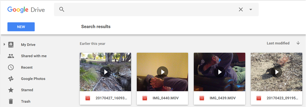 Embedding videos from Google Photo into posts