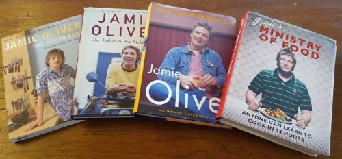 Jamie's cookbooks